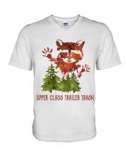 Uper Class Trailer Trash V-Neck T-Shirt thumbnail