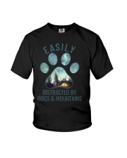 Dogs And Mountains Youth T-Shirt thumbnail