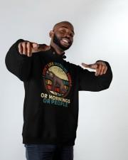 I Dont Like Morning People Hooded Sweatshirt apparel-hooded-sweatshirt-lifestyle-front-12