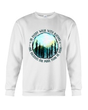 In Every Walk Nature Crewneck Sweatshirt thumbnail