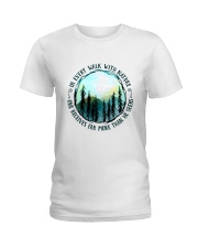 In Every Walk Nature Ladies T-Shirt thumbnail