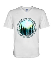 In Every Walk Nature V-Neck T-Shirt thumbnail