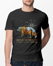 And Into The Forest Classic T-Shirt lifestyle-mens-crewneck-front-13
