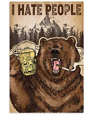 I Hate People 11x17 Poster front