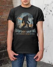 Bigfoot Saw Me Classic T-Shirt apparel-classic-tshirt-lifestyle-31