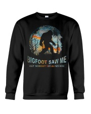 Bigfoot Saw Me Crewneck Sweatshirt thumbnail
