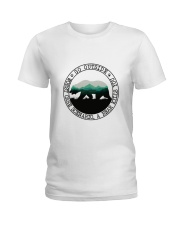 Go Outside Ladies T-Shirt thumbnail