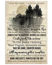 Take Me Home Country Roads 11x17 Poster front