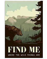 Find Me Where The Wild Things 11x17 Poster front