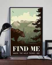 Find Me Where The Wild Things 11x17 Poster lifestyle-poster-2