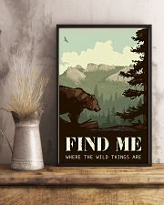 Find Me Where The Wild Things 11x17 Poster lifestyle-poster-3