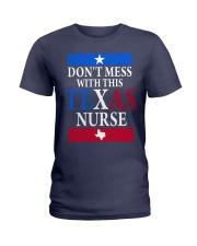 Texas Nurse Tee Ladies T-Shirt front