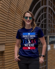 Texas Nurse Tee Ladies T-Shirt lifestyle-women-crewneck-front-2