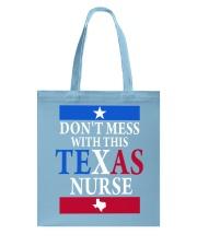 Texas Nurse Tee Tote Bag thumbnail