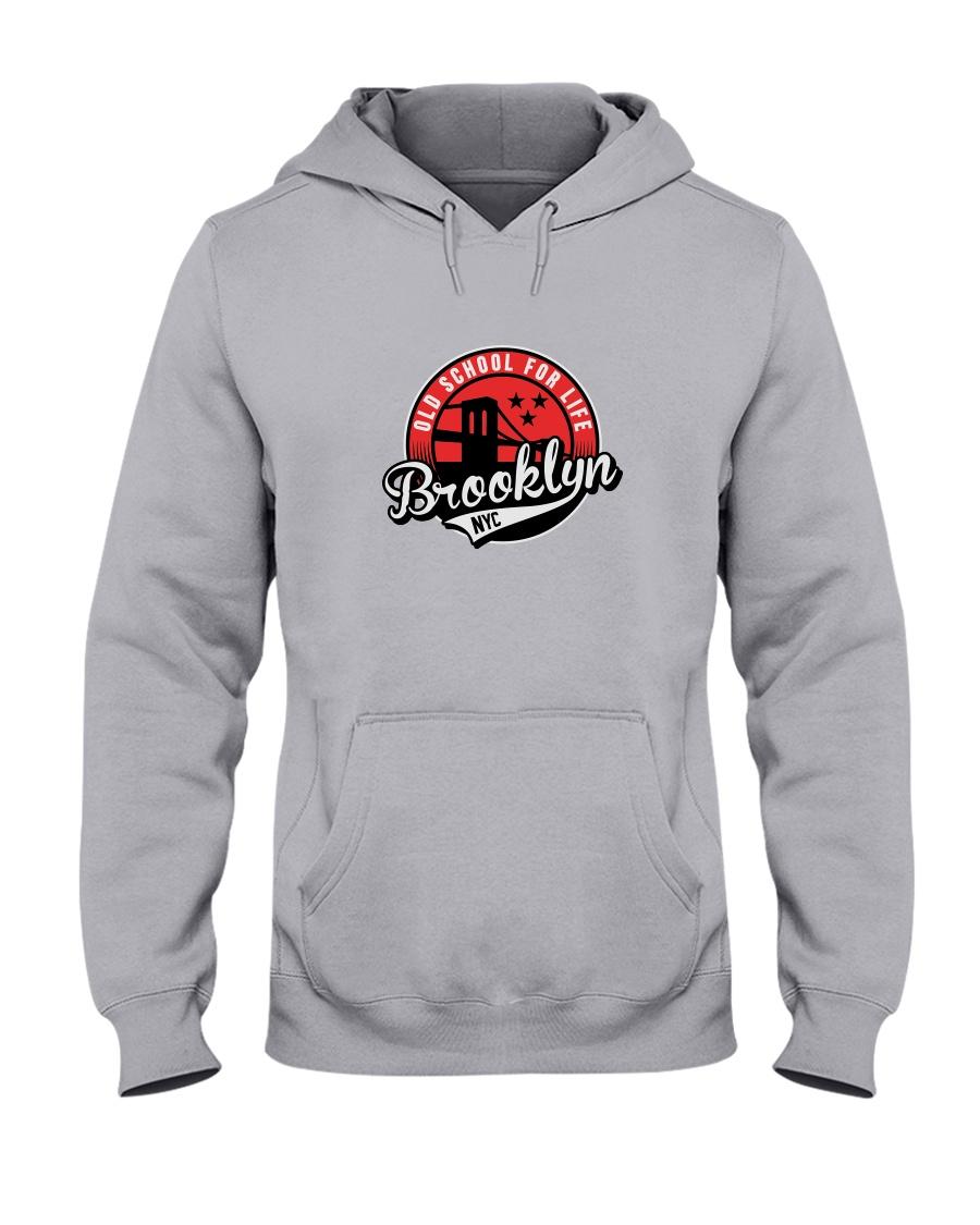 Brooklyn Old School Hooded Sweatshirt