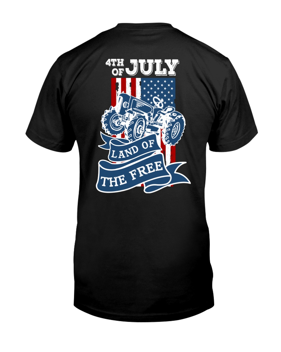 4th of July Tractor Freedom Classic T-Shirt