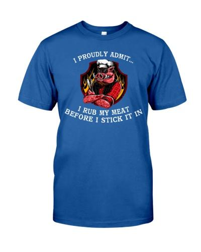 BBQ Rub My Meat T-shirt