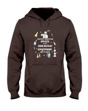 Don't have to be crazy Hooded Sweatshirt front