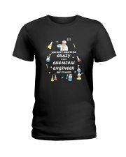 Don't have to be crazy Ladies T-Shirt thumbnail
