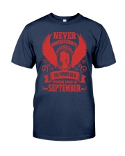 Woman Born In September Classic T-Shirt thumbnail