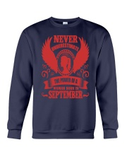 Woman Born In September Crewneck Sweatshirt tile