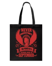 Woman Born In September Tote Bag thumbnail