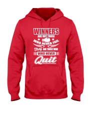 Boxing Winners Are Those Who Hooded Sweatshirt front