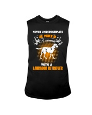 WOMAN WITH A LABS Sleeveless Tee thumbnail