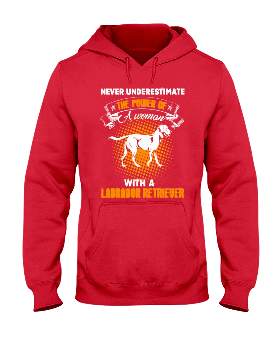 WOMAN WITH A LABS Hooded Sweatshirt