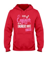 I'm The Engineer Hooded Sweatshirt front