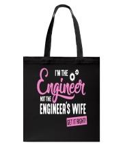 I'm The Engineer Tote Bag thumbnail