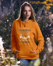 McClymonds High School Hooded Sweatshirt lifestyle-holiday-hoodie-front-5