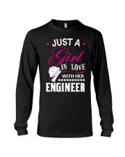Just a girl in love with her engineer Long Sleeve Tee thumbnail