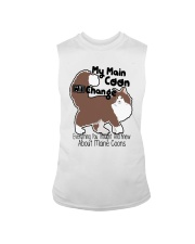 Maine Coon Cat Shirt Sleeveless Tee tile