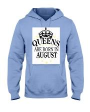 Queens August Hooded Sweatshirt front