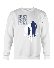 Best Papa Ever Crewneck Sweatshirt tile
