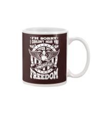 Funny Freedom Distressed Mug thumbnail
