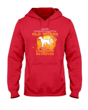 Labrador Retriever4 Hooded Sweatshirt front