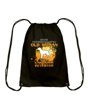 Labrador Retriever4 Drawstring Bag thumbnail