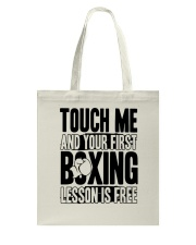Touch Me Your First Boxing Tote Bag thumbnail