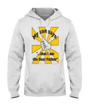 THE BEST FATHER copy Hooded Sweatshirt thumbnail