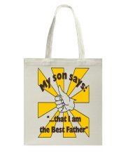 THE BEST FATHER copy Tote Bag thumbnail