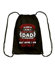 Software Engineer Dad Drawstring Bag thumbnail