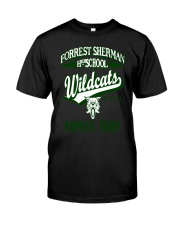 Forrest Sherman High School Naples Italy Wildcats Classic T-Shirt thumbnail