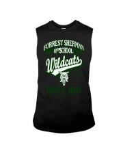 Forrest Sherman High School Naples Italy Wildcats Sleeveless Tee thumbnail