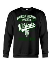 Forrest Sherman High School Naples Italy Wildcats Crewneck Sweatshirt thumbnail