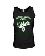 Forrest Sherman High School Naples Italy Wildcats Unisex Tank thumbnail