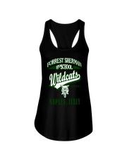 Forrest Sherman High School Naples Italy Wildcats Ladies Flowy Tank thumbnail