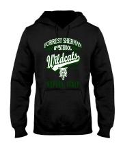 Forrest Sherman High School Naples Italy Wildcats Hooded Sweatshirt thumbnail
