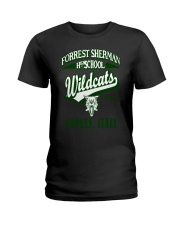 Forrest Sherman High School Naples Italy Wildcats Ladies T-Shirt thumbnail